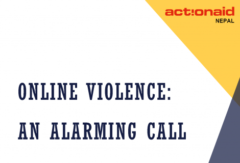 Online Survey - Alarming Call Aug 2020