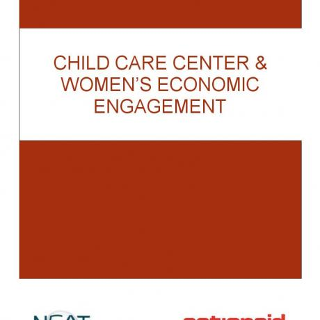 CHILD CARE CENTRE & WOMEN'S ECONOMIC ENGAGEMENT